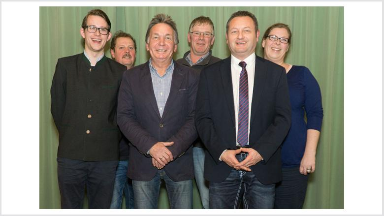 v.l.n.r.: Marquardt Petersen, Andreas Martens, Ingo Bork, Frank Plambeck, Klaus Cybulla, Inka Munstermann. Foto: Jörg Kasischke